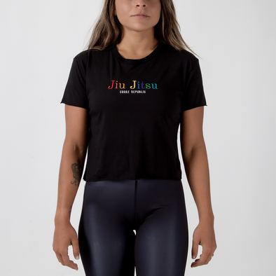Choke Republic Rainbow Women's Crop Top - Fighters Market