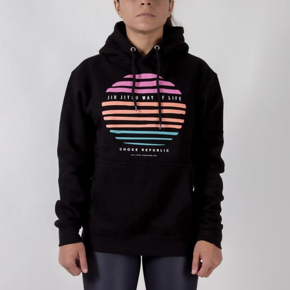 Choke Republic Way of Life V2 Womens Hoodie - Fighters Market
