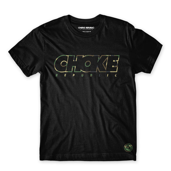 Choke Republic Camouflage Tee - Fighters Market