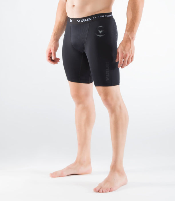 Virus Men's Stay Cool Compression Shorts