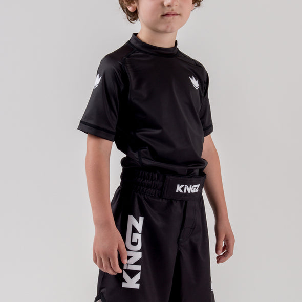 Kingz Kore Youth S/S Rashguard - Fighters Market