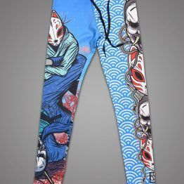 Meerkatsu Demon Mask Ladies Cut Spats - Fighters Market