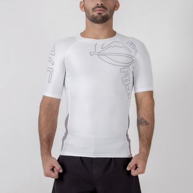 Fuji Inverted Short Sleeve Rash Guard - Fighters Market