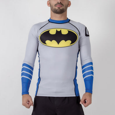 Fusion FG Batman: Silver Age Logo Rash Guard - Fighters Market