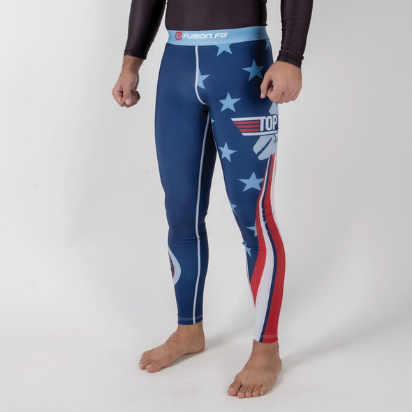 Fusion FG Top Gun Classic Spats - Navy - Fighters Market