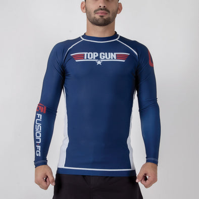 Fusion FG Top Gun Classic Rash Guard - Navy - Fighters Market