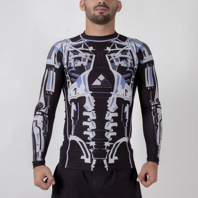 Fusion FG Terminator 2 Endoskeleton Rash Guard - Fighters Market