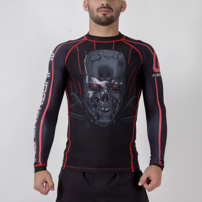 Fusion FG Terminator 2 Skynet Rash Guard - Fighters Market