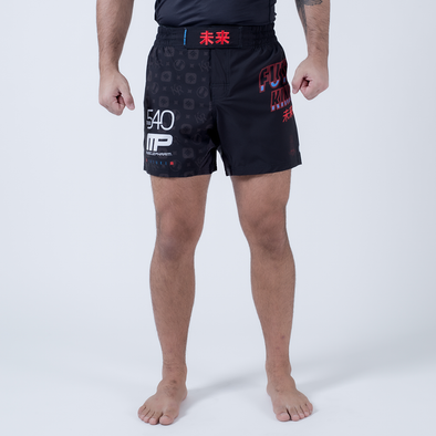 Future Kimonos Gordon Ryan ADCC Fight Shorts - Black - Fighters Market