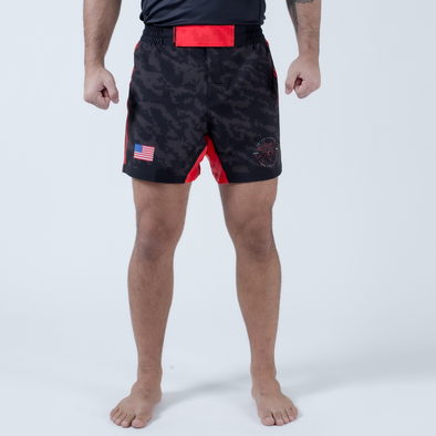 Future Kimonos Under Dawg Comp Shorts - Red - Fighters Market