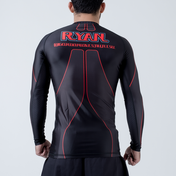 Future Kimonos King Ryan L/S Rash Guard - Black - Fighters Market
