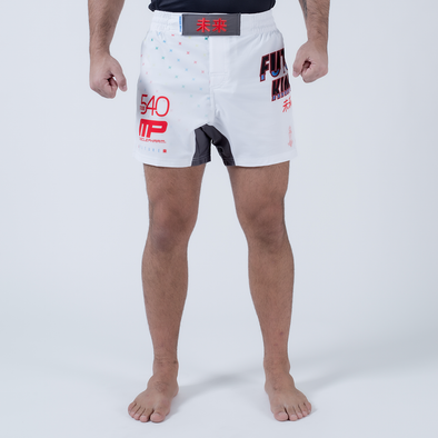 Future Kimonos Gordon Ryan ADCC Fight Shorts - White - Fighters Market