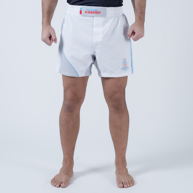 Future Kimonos King Ryan 2020 Fight Shorts - White - Fighters Market