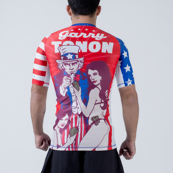 Future Kimonos Garry Tonon ADCC Rash Guard - USA - Fighters Market