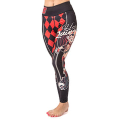Fusion FG Harley Quinn DC Bombshell Women's Spats - Fighters Market