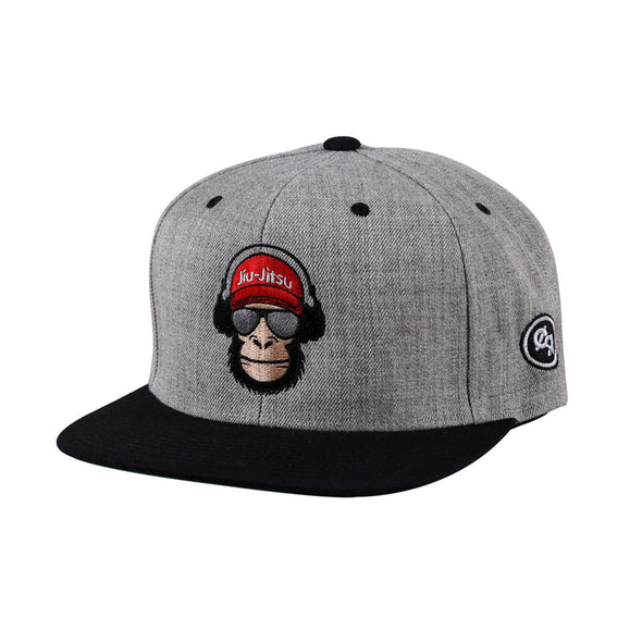Choke Republic Jiu Jitsu Monkey Snapback Hat - Fighters Market