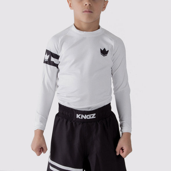 Kingz Captain Youth Rash Guard - Fighters Market