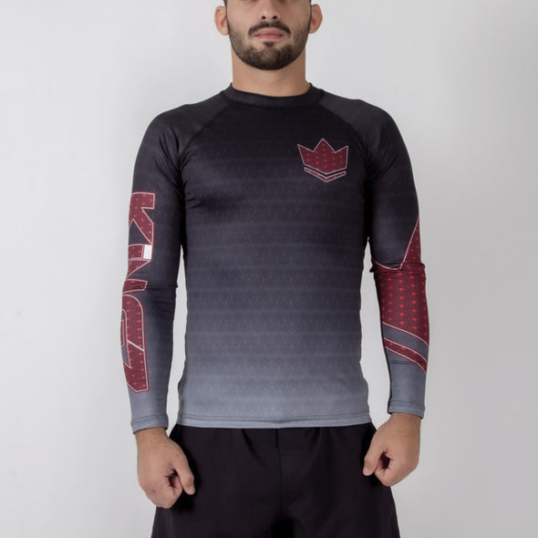 Kingz Crown 3.0 Ranked Rash Guard - Fighters Market