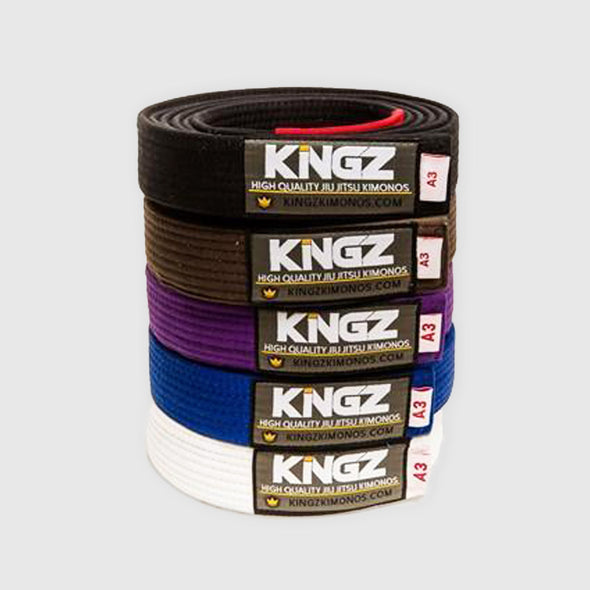 Kingz Deluxe BJJ Belts - Fighters Market