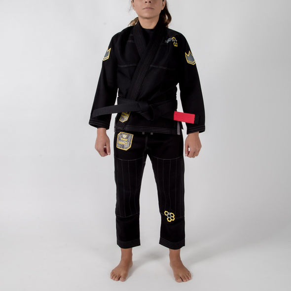Kingz Nano Womens Jiu Jitsu Gi - BLACK FRIDAY SPECIAL OFFER - Fighters Market