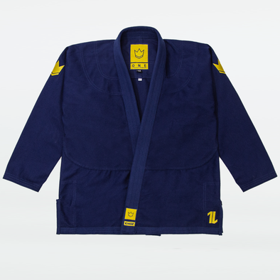 Kingz The ONE Jiu Jitsu Gi - Navy - FREE White Belt - Fighters Market