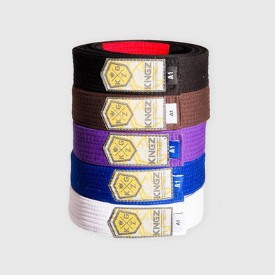 Kingz Deluxe V2 BJJ Belts - Fighters Market