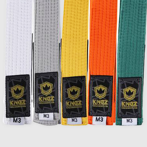 Kingz Solid Color Kids Belts - Fighters Market