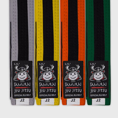 Lil Samurai Kids Belt - Black Stripe - Fighters Market