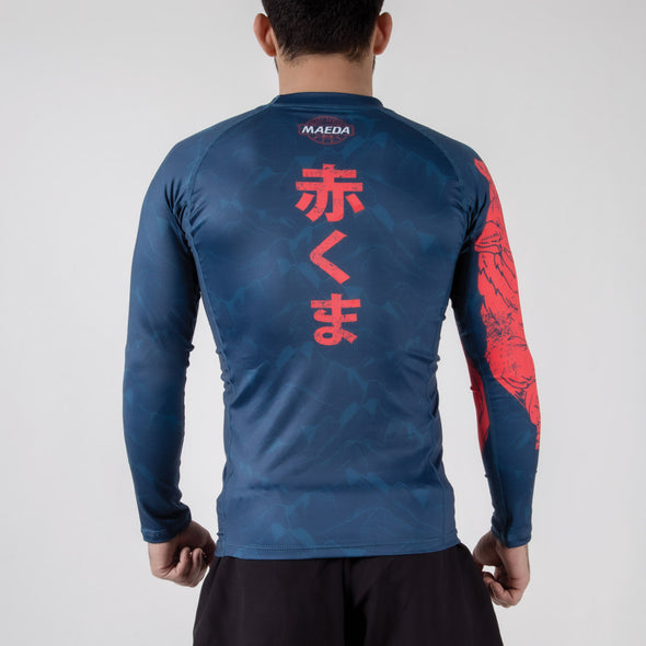 Maeda Beast Series Rashguard - Bear - Fighters Market