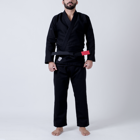 Maeda Black Label Jiu Jitsu Gi (Free White Belt) - Fighters Market