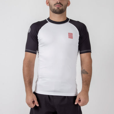 Maeda Dan Series S/S Ranked Rash Guard - Fighters Market