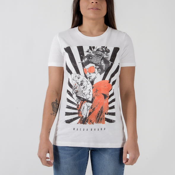 Maeda Brand Womens Geisha Tee - Fighters Market