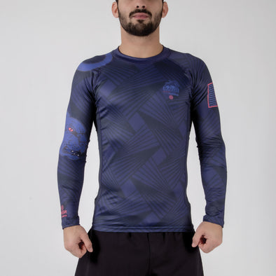 Maeda Beast Series Rashguard - Panther - Fighters Market