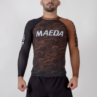 Maeda Ranked Rash Guard - Fighters Market
