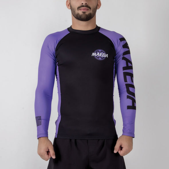 Maeda Ranked V2 Rash Guard - Fighters Market