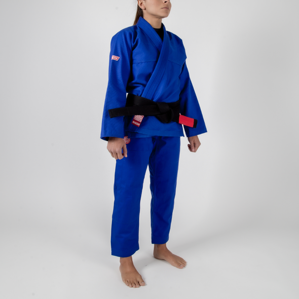 Maeda Red Label 2.0 Women's Jiu Jitsu Gi ( Free White Belt ) - Fighters Market