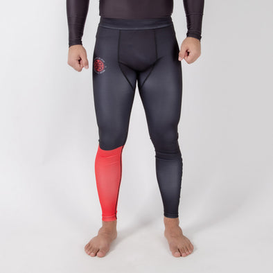 Maeda Red Label Grappling Spats - Fighters Market