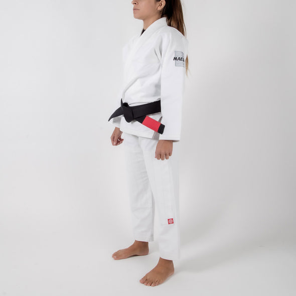 Maeda Red Label Women's Gi  (Free White Belt) - Fighters Market