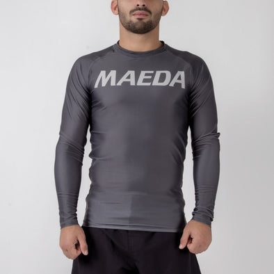 Maeda Roko L/S Rash Guard - Fighters Market
