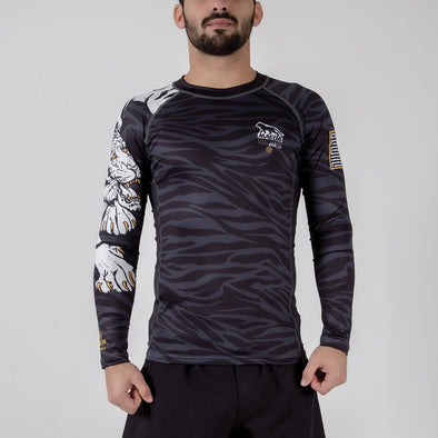 Maeda Beast Series Rashguard - Tiger - Fighters Market