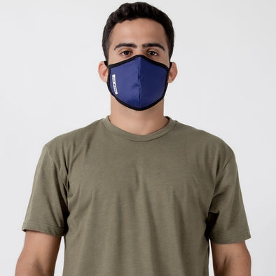 Box Navy - Unisex Face Mask - Fighters Market
