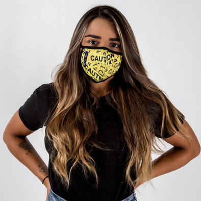 Caution - Unisex Face Mask - Fighters Market