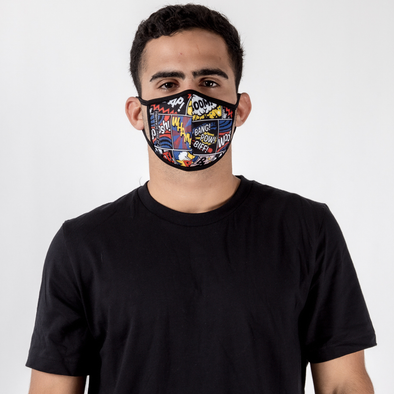 Cartoon - Unisex Face Mask - Fighters Market
