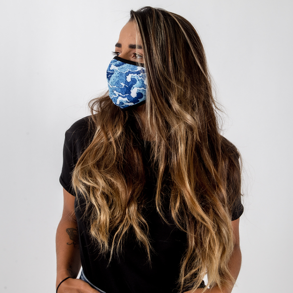 Wave - Unisex Face Mask - Fighters Market
