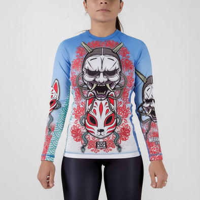 Meerkatsu Demon Mask Ladies Cut Rashguard - Fighters Market