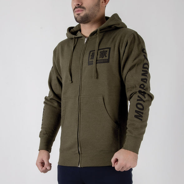Moya Brand Aftermath Zip Up Hoodie - Fighters Market