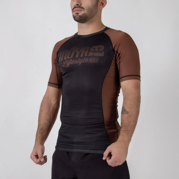 Moya Brand Short Sleeve Rash Guard