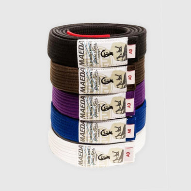 Maeda Brand Standard BJJ Belts - Fighters Market