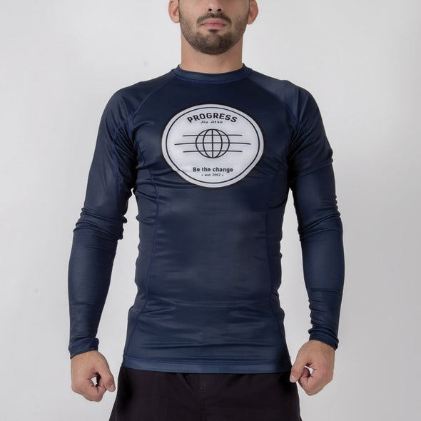 Progress Be The Change Rash Guard