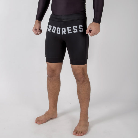 Progress White Label Vale Tudo Shorts - Fighters Market